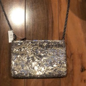 J. Crew small sequence evening bag NWT